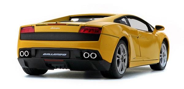 โมเดลรถ โมเดลรถยนต์ โมเดลรถเหล็ก Gallardo 560-4 เหลือง 2