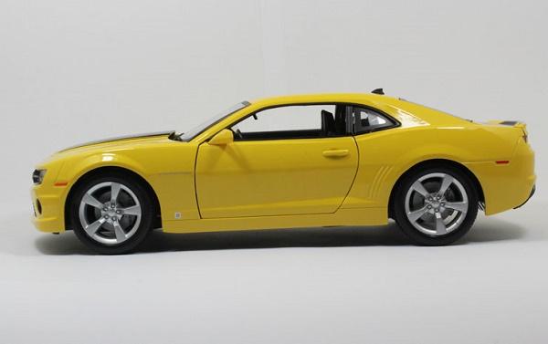 โมเดลรถ โมเดลรถเหล็ก โมเดลรถยนต์ chevrolet camaro yellow 3