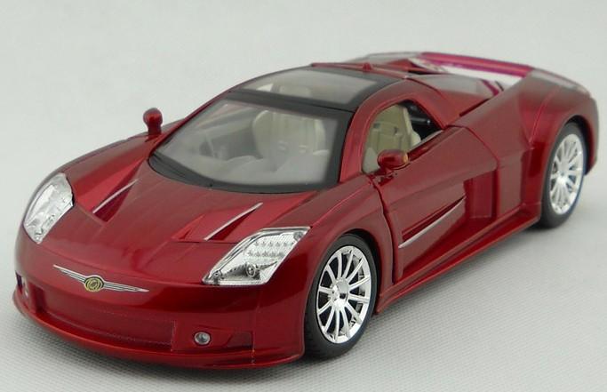โมเดลรถ โมเดลรถยนต์ โมเดลรถเหล็ก Chrysler M3 แดง 1