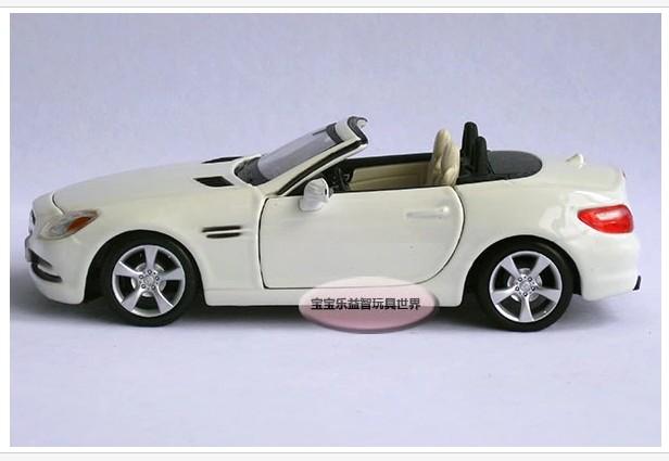 โมเดลรถ โมเดลรถยนต์ รถเหล็ก benz SLK 3