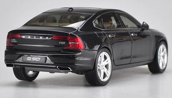 โมเดลรถ โมเดลรถเหล็ก โมเดลรถยนต์ Volvo S90 black 2