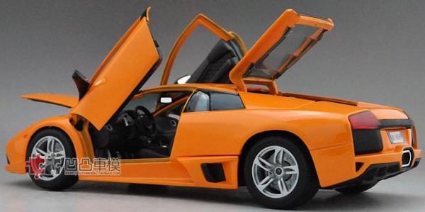 โมเดลรถ โมเดลรถเหล็ก โมเดลรถยนต์ Lamborghini LP640 orange 5