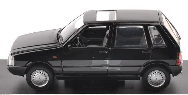 โมเดลรถเหล็ก โมเดลรถยนต์ Fiat Uno 55S black 5