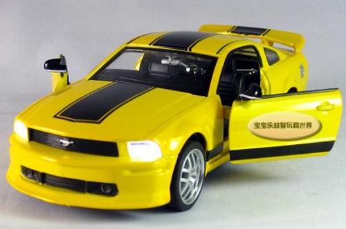 โมเดลรถเหล็ก โมเดลรถยนต์ Ford Mustang GT 1