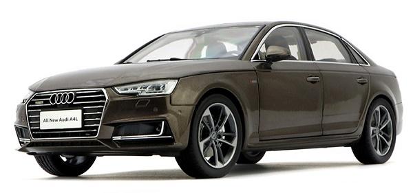 โมเดลรถ โมเดลรถเหล็ก โมเดลรถยนต์ Audi A4L brown 1