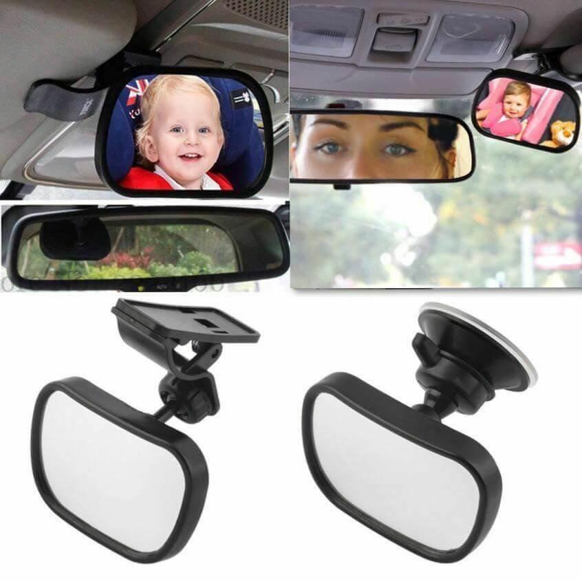 #กระจกมองเด็กในรถ Baby view mirror 2 in 1