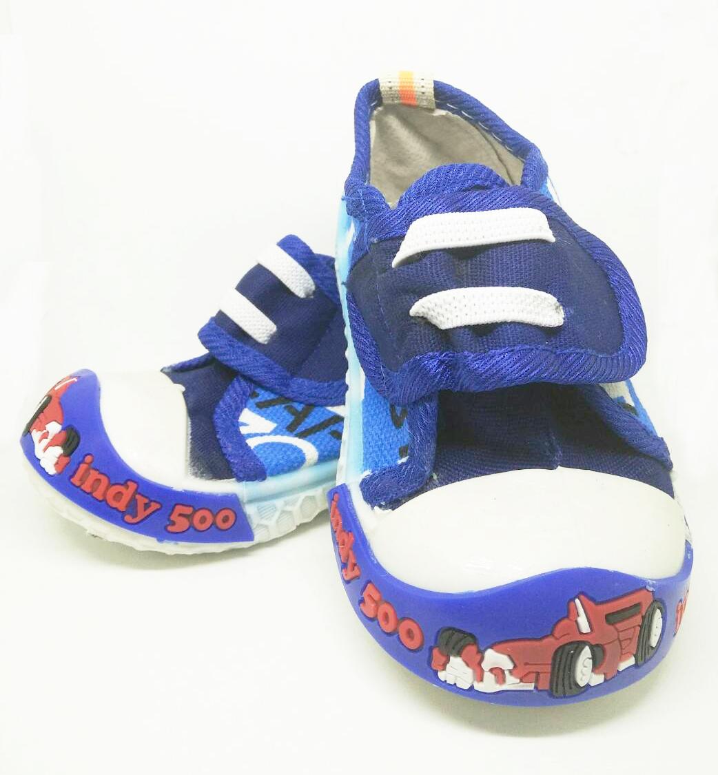 รองเท้าเด็กเล็กสีน้ำเงิน แนว sport - Nuebabe