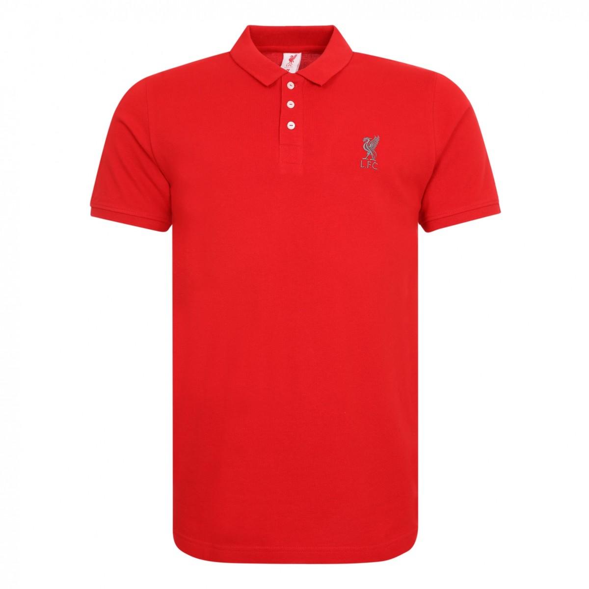 เสื้อโปโลลิเวอร์พูลของแท้ Mens Red Conninsby Polo Shirt