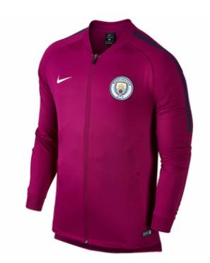 เสื้อไนกี้แจ็คเก็ตแมนเชสเตอร์ ซิตี้ สีมารูนของแท้