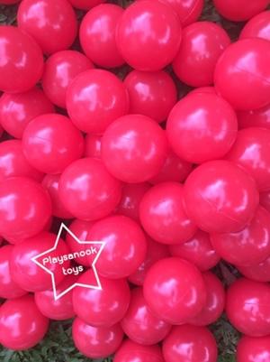 UT-5908 ลูกบอลพลาติก สีแดง 200 ลูก