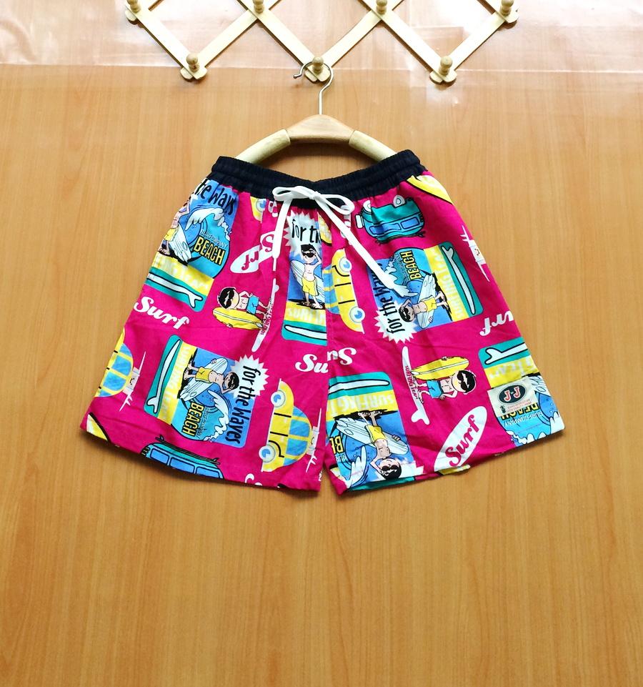 ขายส่ง:กางเกงเจเจเอวรูดสายเชือกผูกใส่สบาย/เอวยืดได้24-40