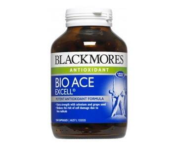 Blackmores Bio ACE 60 เม็ด บำรุงผิวพรรณ ช่วยชะลอความเสื่อมของเซลล์ผิว บำรุงร่างกาย เหมาะสำหรับผู้ที่มีความเครียดสูง ทำงานหนัก