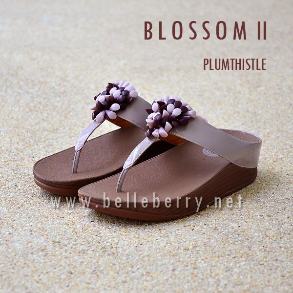 **พร้อมส่ง** FitFlop : BLOSSOM II : Plumthistle : Size US 7 / EU 38