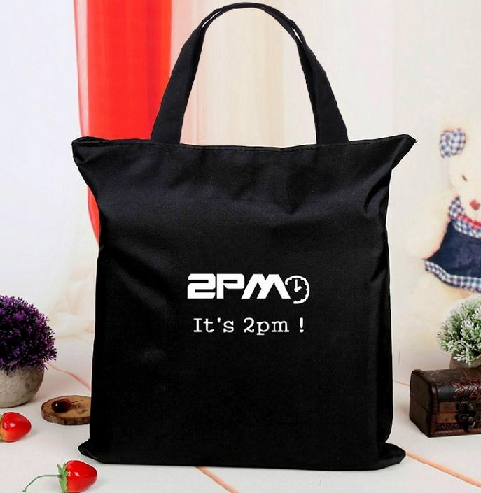 กระเป๋าผ้าสะพายข้าง : 2PM