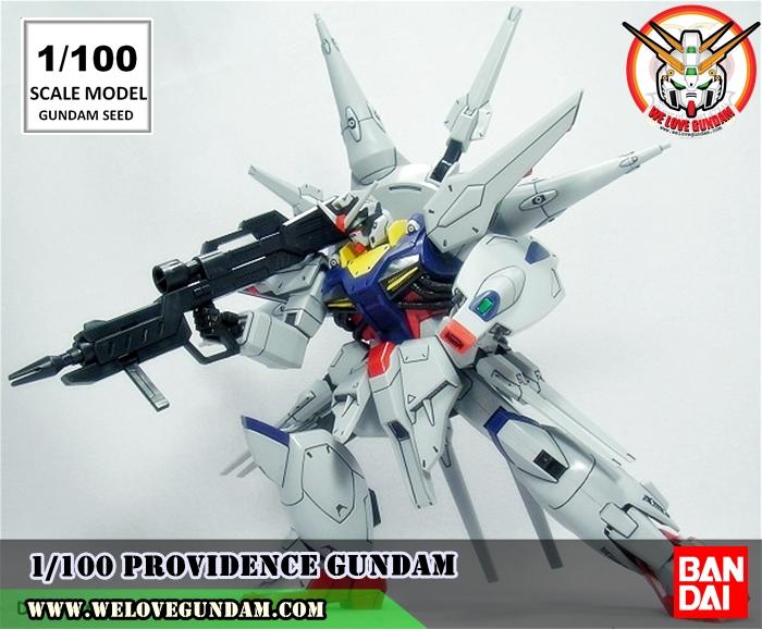 1/100 SCALE MODEL PROVIDENCE GUNDAM