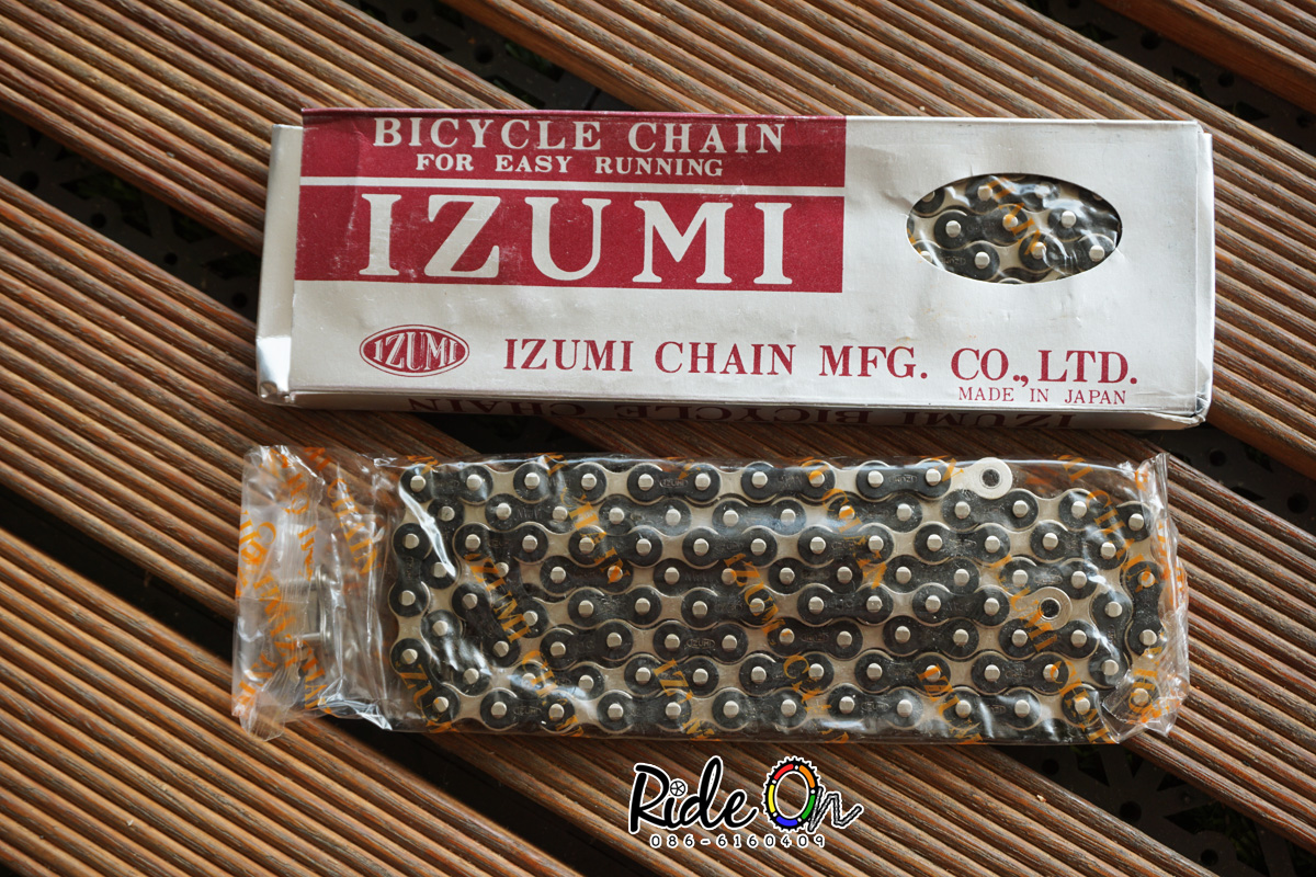 โซ่ IZUMI - สีเงินดำ