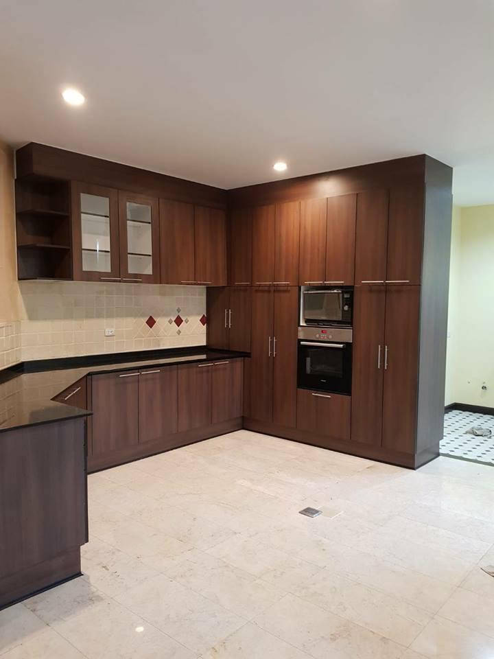 2.7 ตู้บน+ล่าง 1.8 ตู้เต็มสูง 220 cm 1.6+0.2 ตู้ล่าง