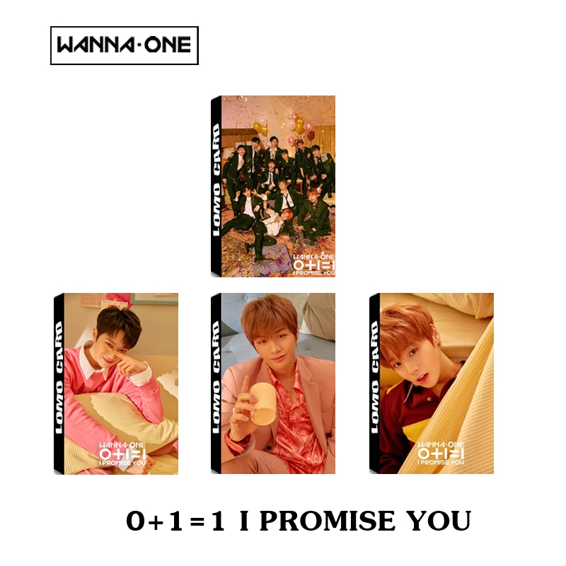 LOMO CARD WANNA ONE 0+1=1 I PROMISE YOU 30 รูป