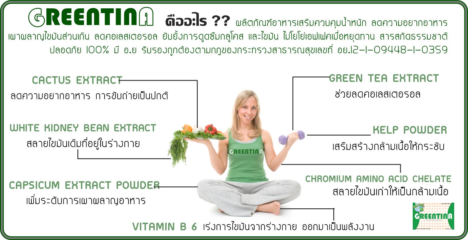 กรีนติน่า Greentina ลดน้ำหนัก ของแท้ ราคาถูก ปลีก/ส่ง โทร 089-778-7338-088-222-4622 เอจ