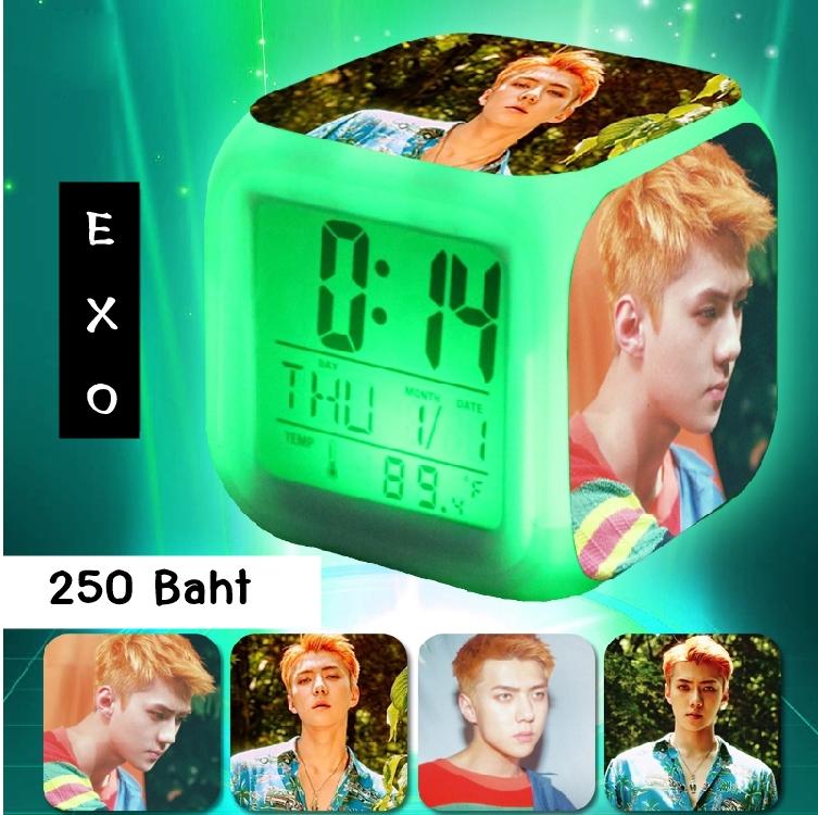 นาฬิกา LED SEHUN EXO KOKOBOP