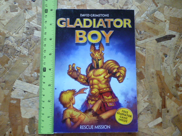 Gladiator Boy 5: Rescue Mission