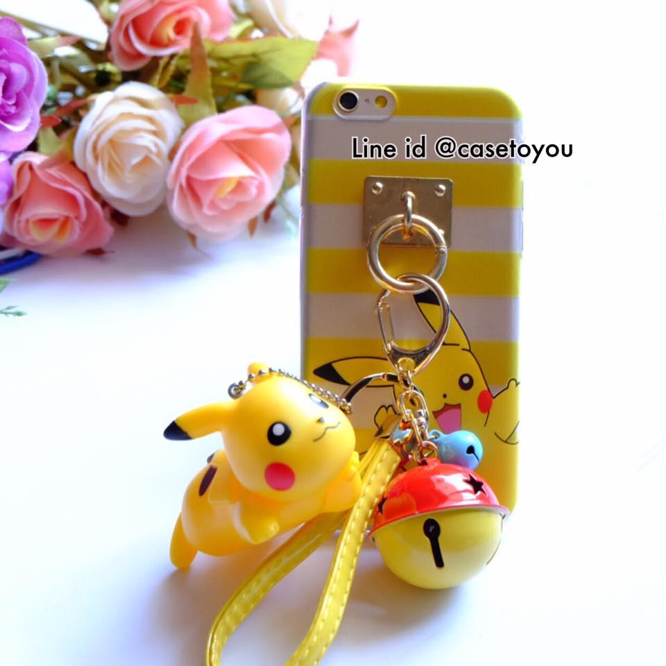 Pokemon แถมพวงกุญแจตุ๊กตา (C) iPhone 5/5S/SE