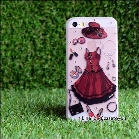 เคสสุดชิค สไตล์สาวเปรี้ยว New 01 iPhone 5/5S/SE