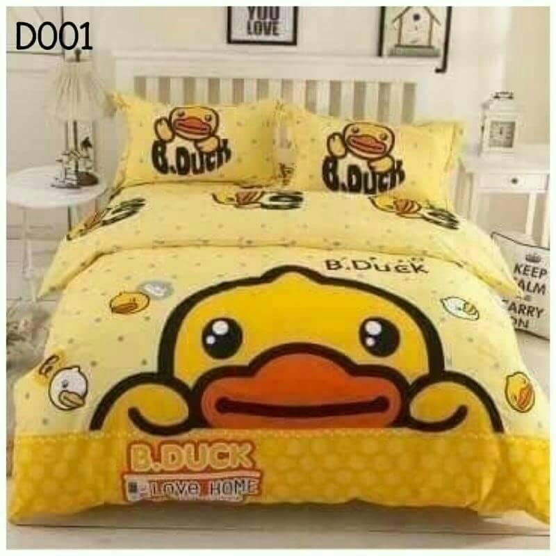 ผ้าปูที่นอน เกรดพรีเมี่ยม ลาย B.Duck