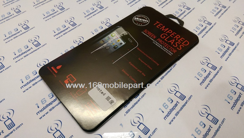 ฟิลม์กระจก 9H Samsung Galaxy Note 4