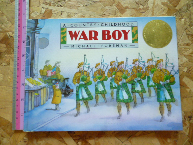 WAR BOY (A Country Childhood)/ Paperback