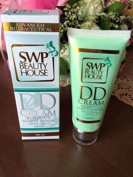SWP DD Cream UV White Magic ดีดี ครีม น้ำแตก บาย เอส ดับบลิว พี
