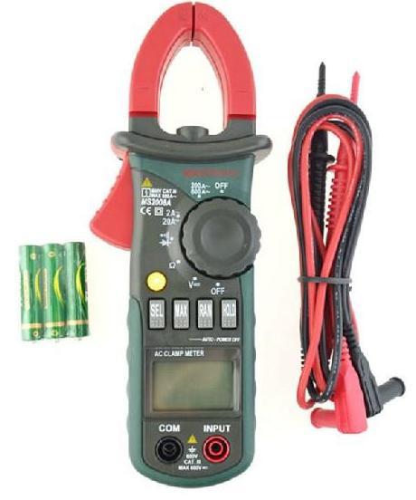 MASTECH MS2008A ุ0-600VDC/VAC Digital Clamp Meter (AC DC Current Voltage Resistance)