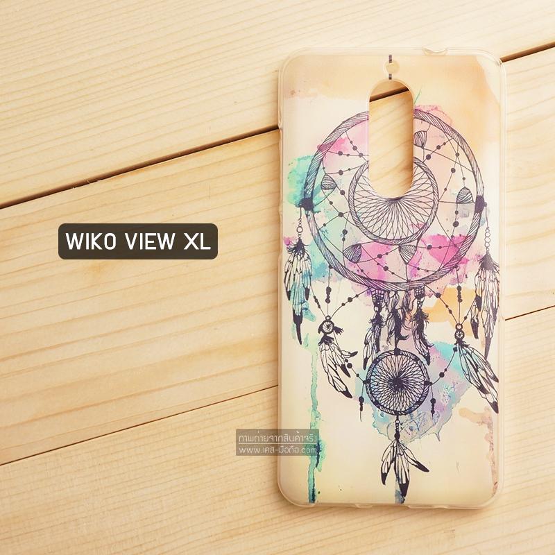 เคส Wiko View XL เคสนิ่ม TPU พิมพ์ลาย แบบที่ 5