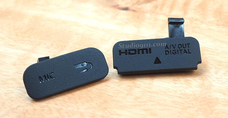 ยางปิดช่อง USB สำหรับกล้อง CANON EOS 750D 760D ของแท้