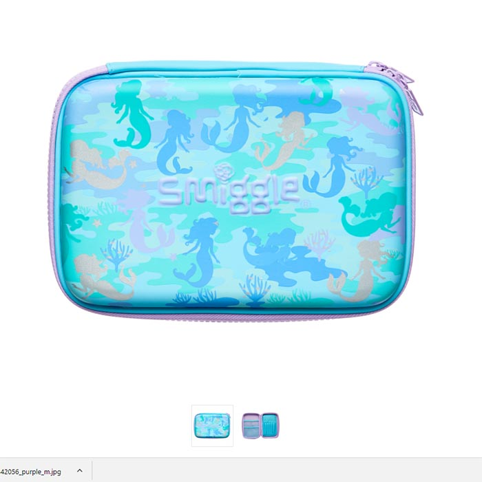 SMP070 กล่องดินสอ 1 ชั้น Now You See Me Hardtop Pencil Case