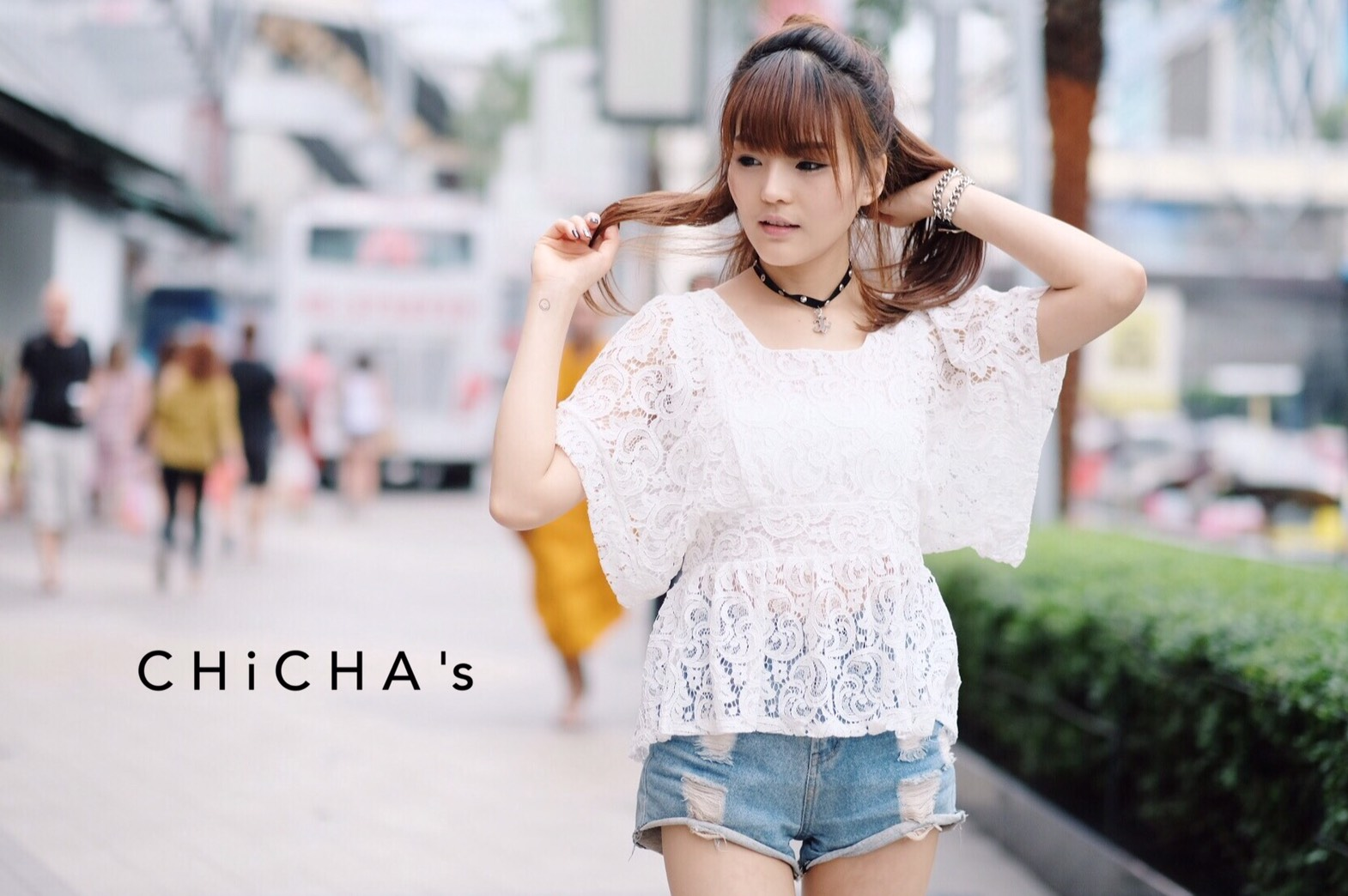 Bella Lace Blouse By ChiCha