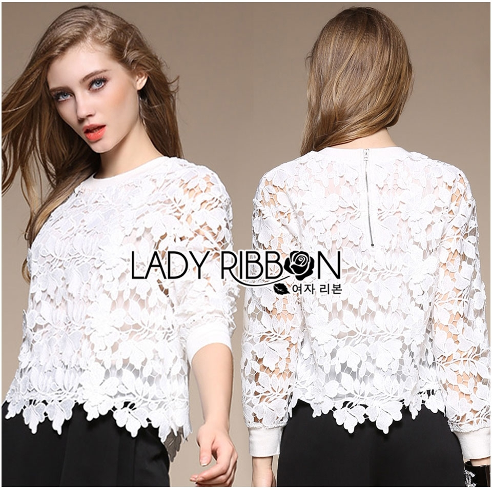 Lady Ella Sweet & Sporty Lace Jumper L236-75C07