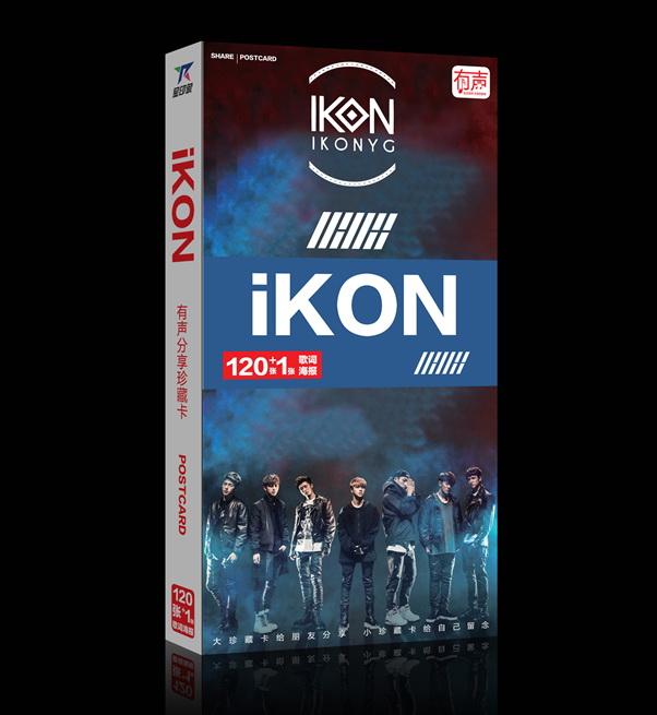 KINO3 โปสการ์ด IKON ของติ่ง IKON ราคาถูก