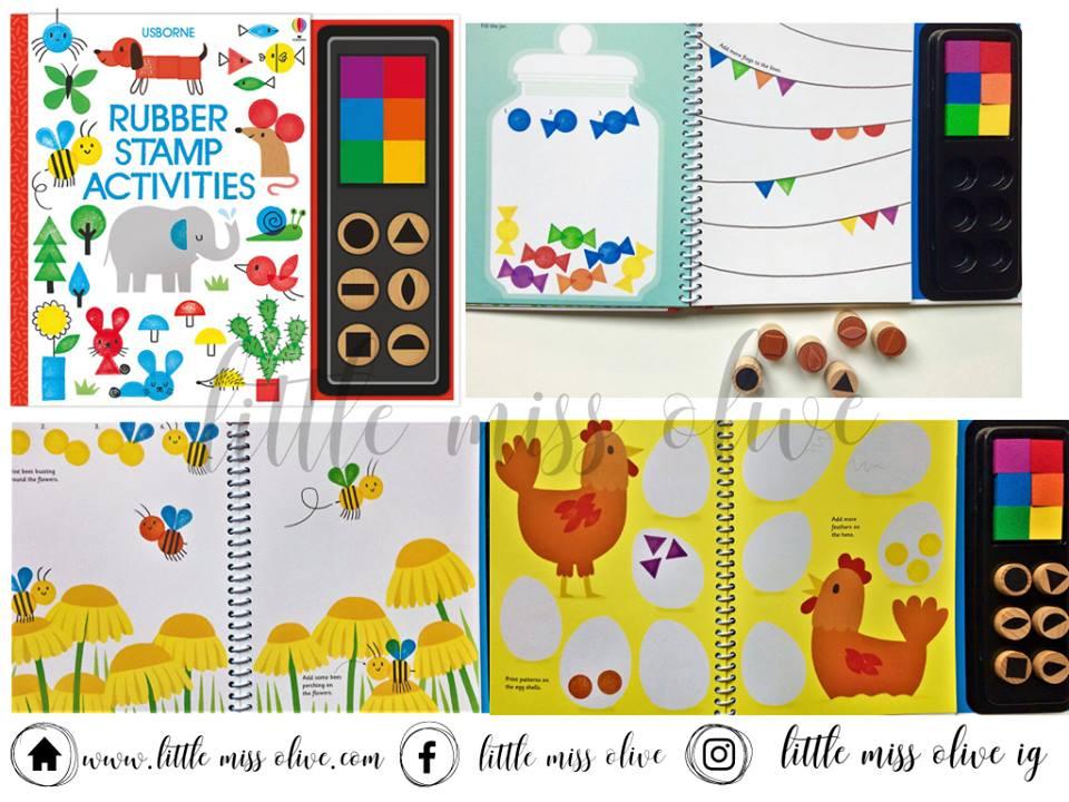 Rubber Stamp Activities Book