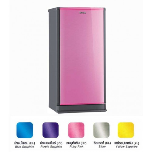 ตู้เย็น MITSUBISHI MR-18GA สี ชมพูทับทิม ( RP )