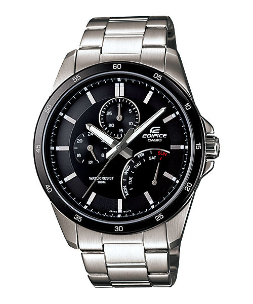นาฬิกาข้อมือ CASIO EDIFICE MULTI-HAND รุ่น EF-341D-1AV