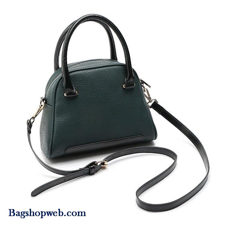 กระเป๋า MANGO ZIPPED PEBBLED BAG ใช้ถือหรือสะพายข้าง หนัง PU คุณภาพสูง ใบเล็กกะทัดรัด น่ารัก น่าใช้ค่า