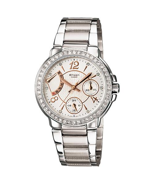 นาฬิกาข้อมือ CASIO SHEEN MULTI-HAND รุ่น SHN-3008D-7A