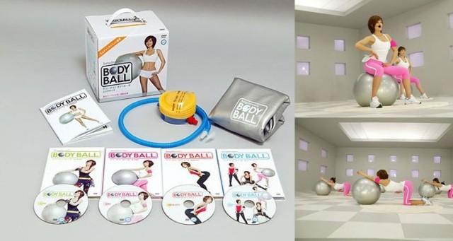 Jungdayeon's bodyball 4 Disc Box Set