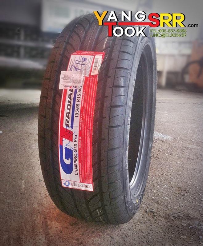 GT-RADIAL CHAMPIRO GTX PRO 195/55-15 ปี16