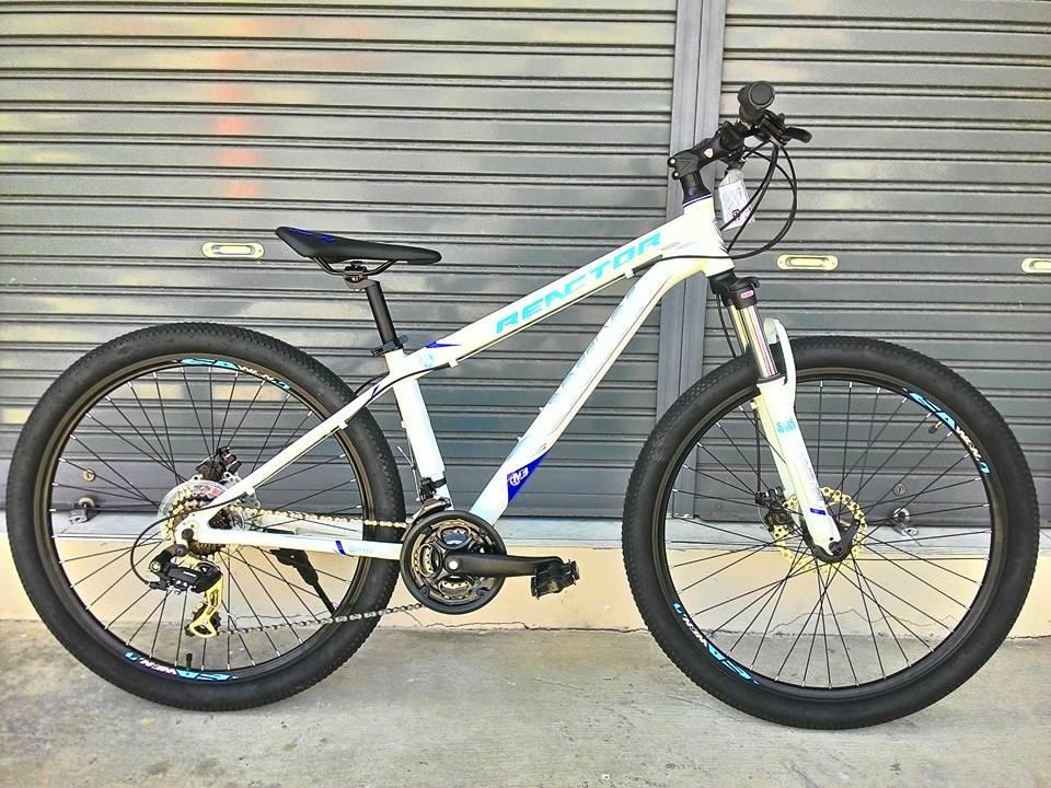 จักรยานเสือภูเขาล้อ 27.5 นิ้ว Winn Reactor เฟรมอลูมิเนียม 6061 ชุดเกียร์ Shimano TourneyTX 21 Speed โช๊คล็อค ไซส์ 15 และ 17 นิ้ว