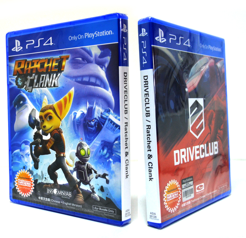 PS4™ DRIVECLUB / Ratchet & Clank [ Special Package ] Zone 3 Asia / English