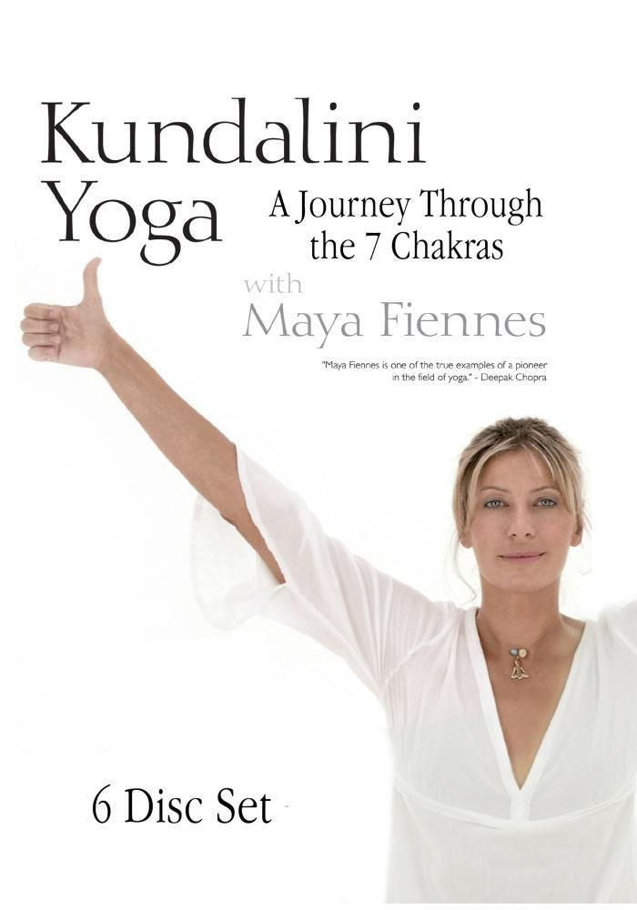 Kundalini Yoga: A Journey Through the 7 Chakras with Maya Fiennes - 6 DVD Set