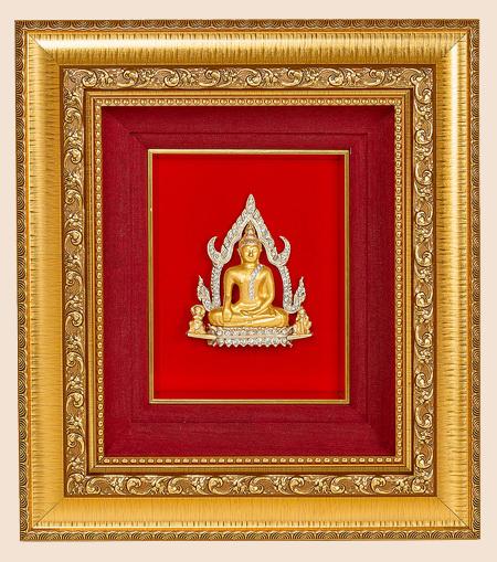 ของที่ระลึก กรอบพระพุทธชินราชกลาง