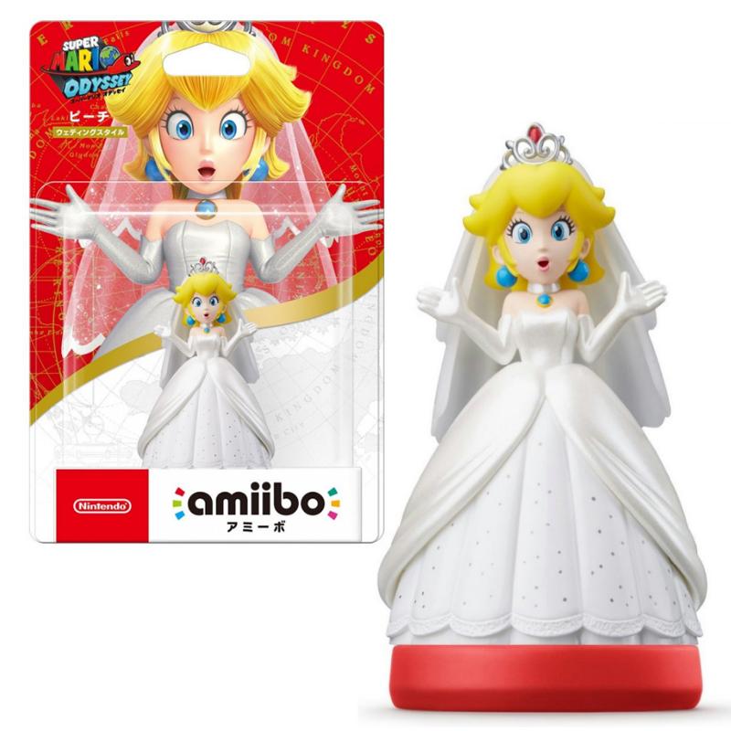 ++ อมีโบเจ้าหญิงพีช ++ Amiibo Peach (Super Mario Odyssey Series Figure) ราคา 790.-